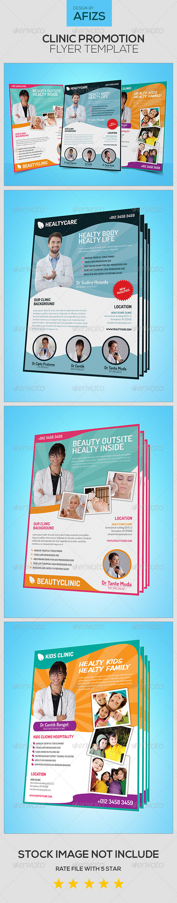 GraphicRiver Clinic Promotion Flyer 5522759