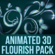 Animated 3D Flourish Pack for Element 3D - VideoHive Item for Sale