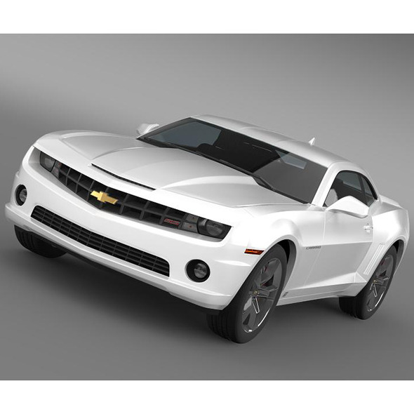 Chevrolet Camaro SS 2010 - 3DOcean Item for Sale