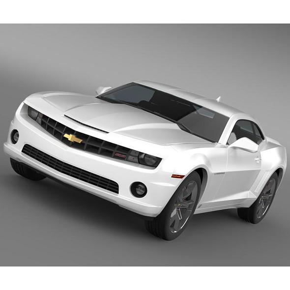 3DOcean Chevrolet Camaro SS 2010 5543961
