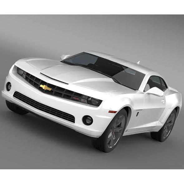 Chevrolet Camaro Transformer - 3DOcean Item for Sale