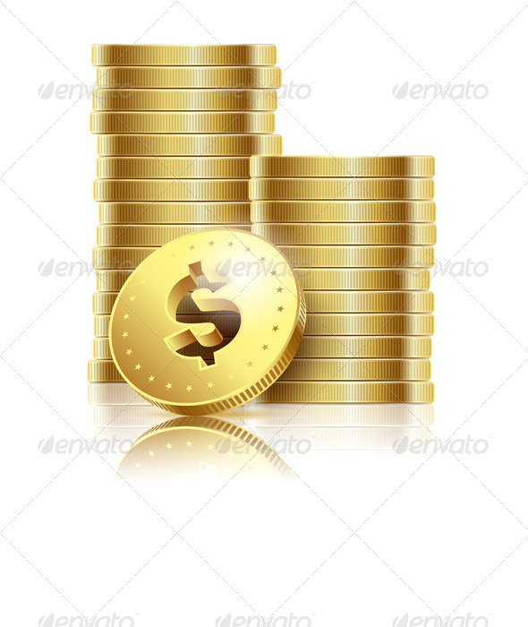 GraphicRiver Golden Dollar 5544426