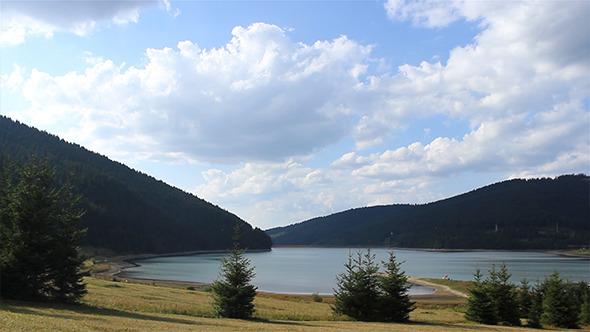 VideoHive Inspiring Lake Panorama 5544486