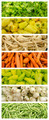 Fresh Vegetables In Market Collage - PhotoDune Item for Sale