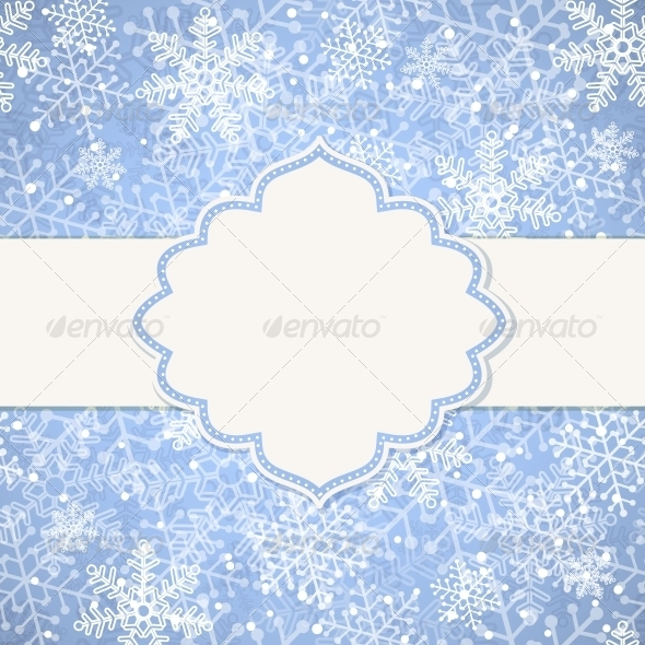 GraphicRiver Christmas Frame 5545268