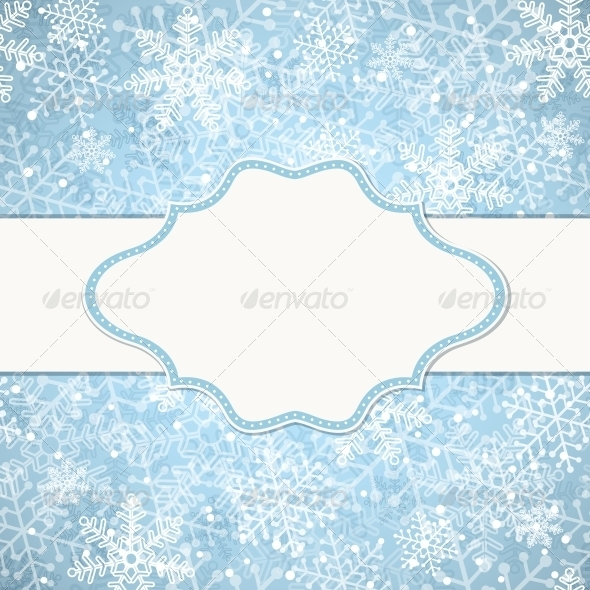 GraphicRiver Christmas Frame 5545274