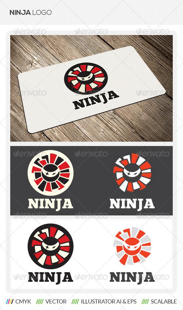 GraphicRiver Ninja Logo Template 5513582