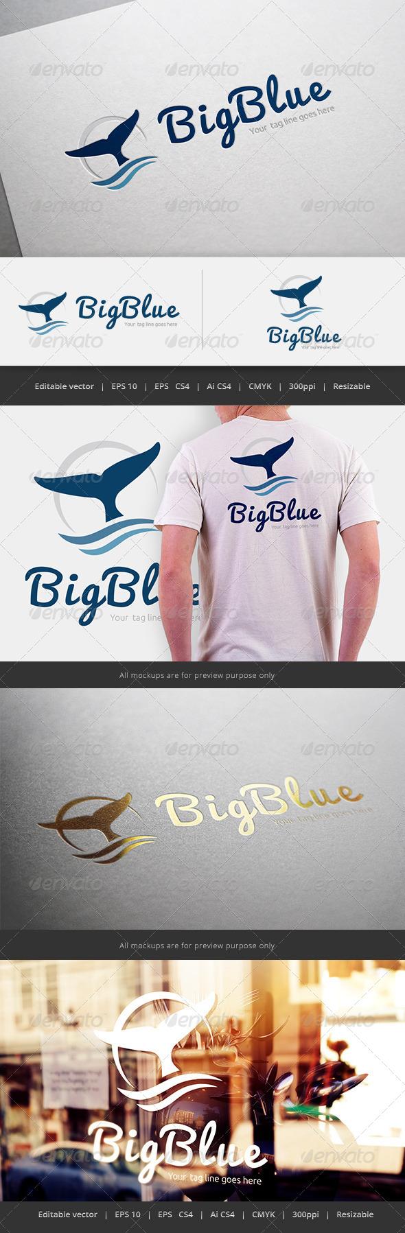 GraphicRiver Big Blue Logo 5545472