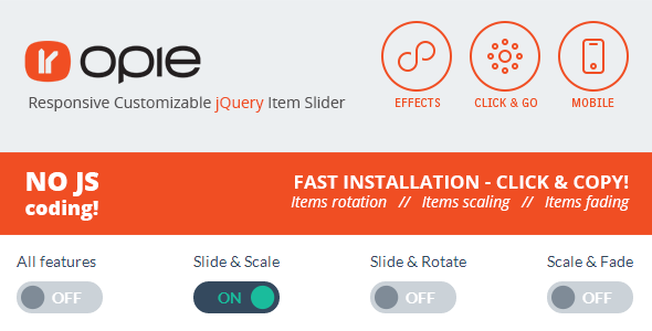 CodeCanyon JQuery CSS3 Item Slider 5474090