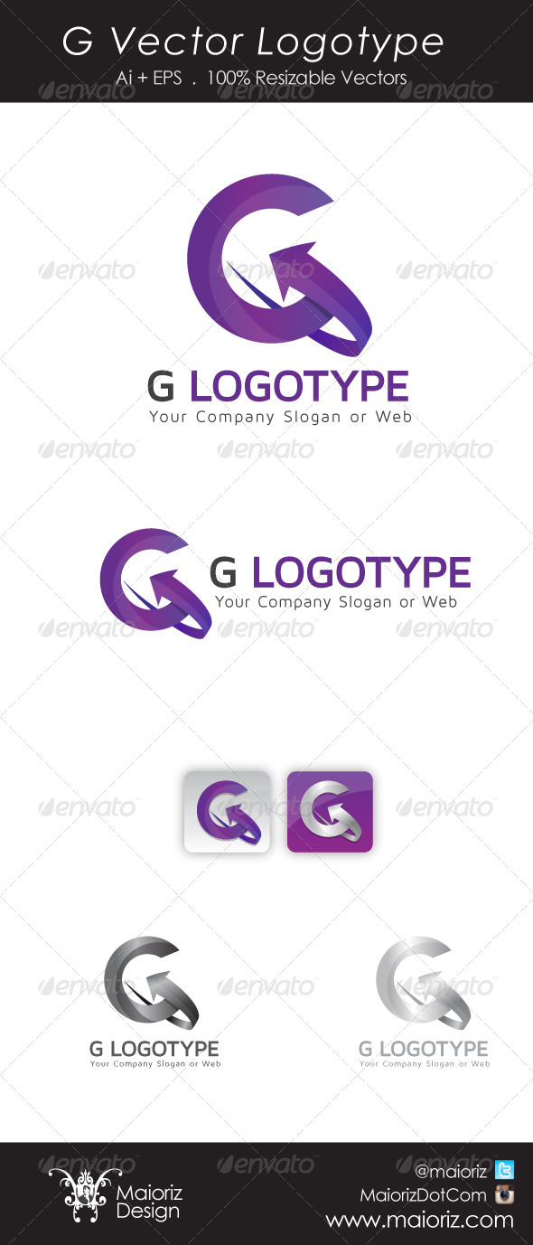 GraphicRiver G Vector Logotype 5500412