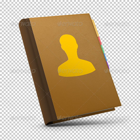 GraphicRiver contacts book 5546011