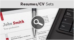 Resumes - CV Sets