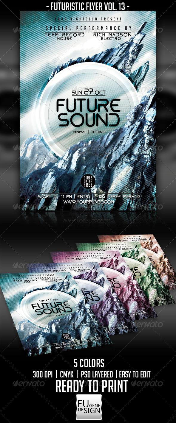 GraphicRiver Futuristic Flyer Vol 13 5546159