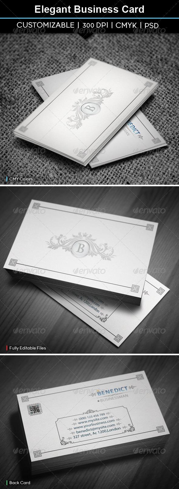 GraphicRiver Elegant Business Card 5522891