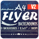 A4 - Flyer Backgrounds [Vol.2] - GraphicRiver Item for Sale