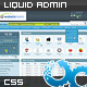 Complete Liquid Admin Control Panel - ThemeForest Item for Sale