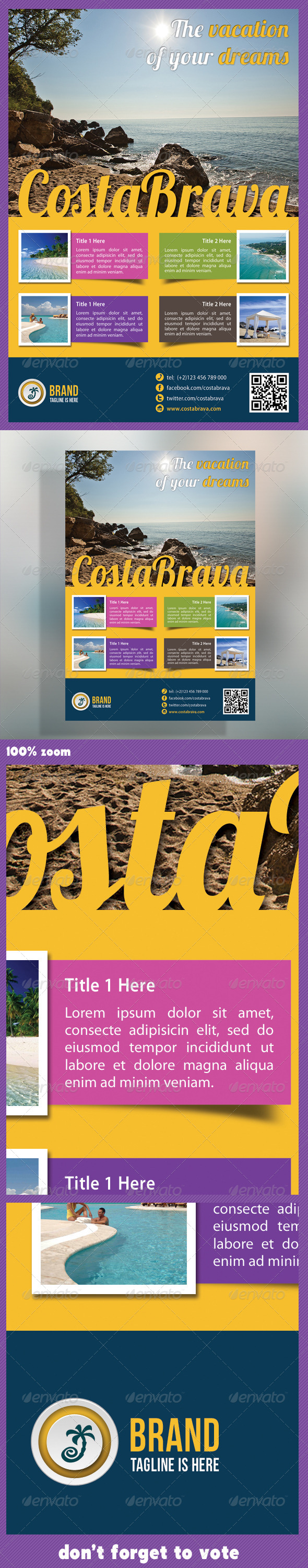 Travel Agency Corporate Flyer - Holidays Events