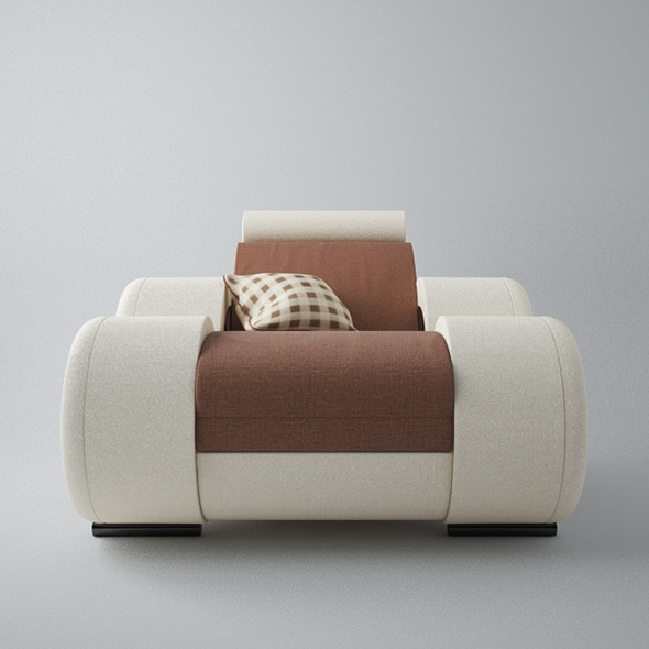 Modern Sofa 1x - 3DOcean Item for Sale