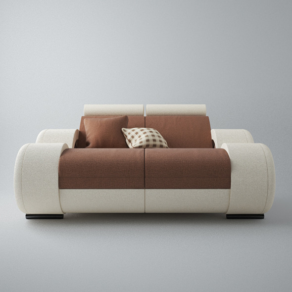 3DOcean Modern Sofa 2x 5546622