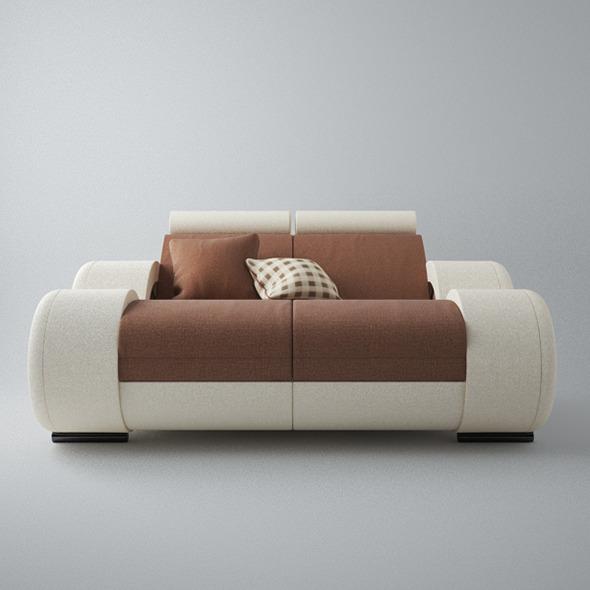 Modern Sofa 2x - 3DOcean Item for Sale