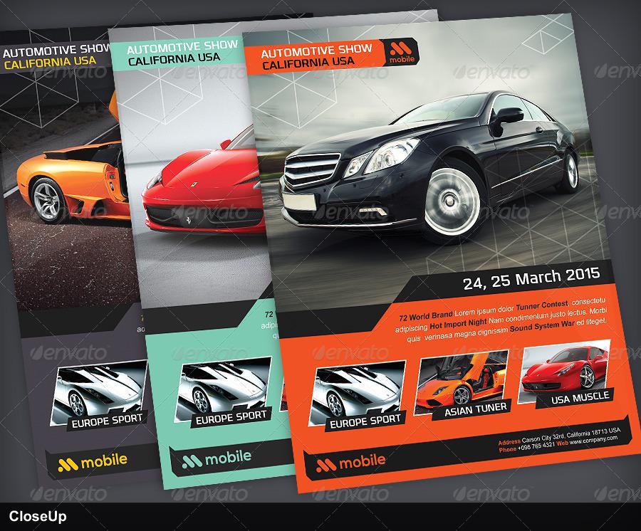 Automotive Flyer Volume 1 By Vinirama Graphicriver