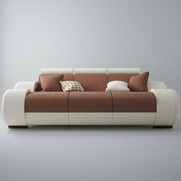 3DOcean Modern Sofa 3x 5546679