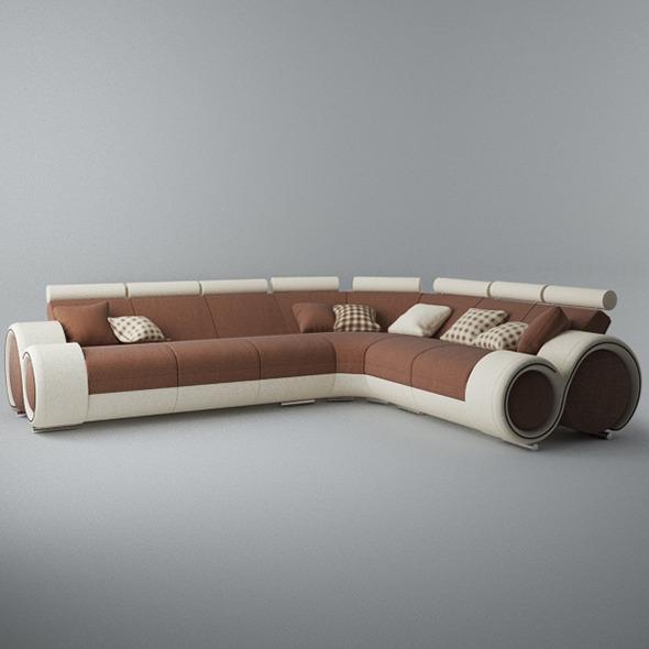 3DOcean Modern Sofa 6x 5546698