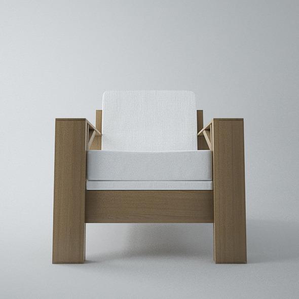 3DOcean Armchair Carpenter 5546707