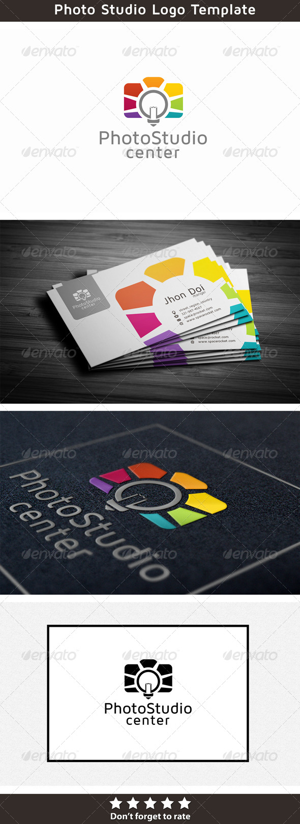 Creative Photography - Symbols Logo Templates