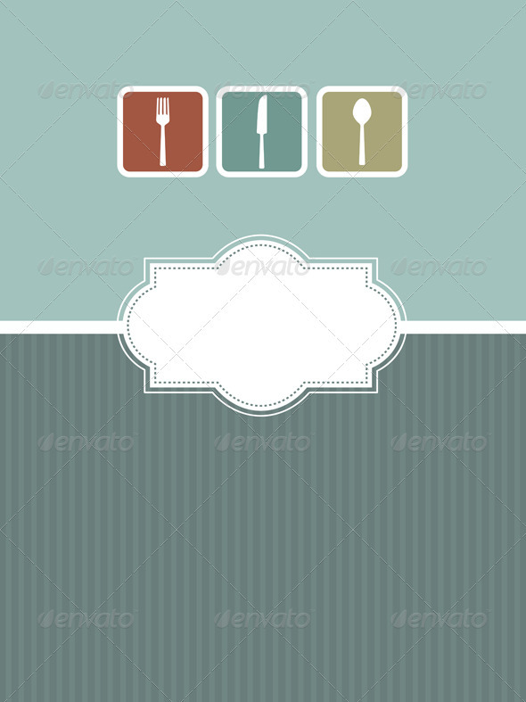 GraphicRiver Menu Design 570864