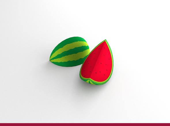3DOcean Watermelon 5548204