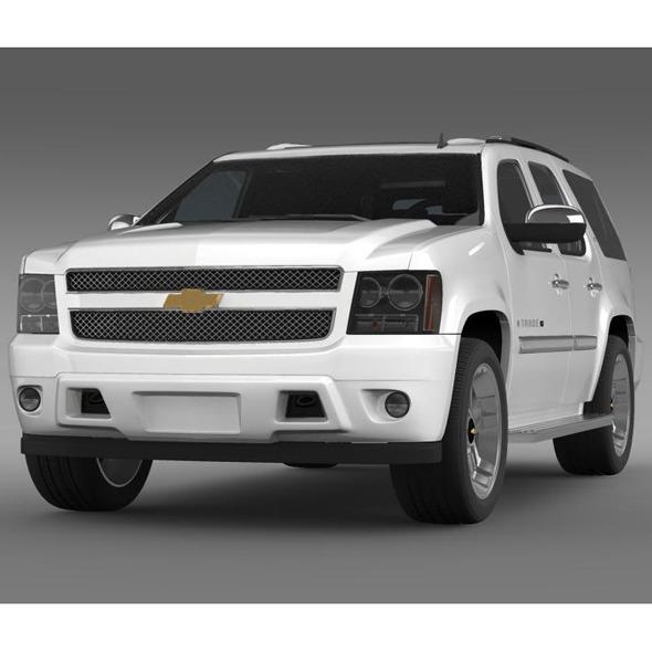 3DOcean Chevrolet Tahoe XFE 2008 5548316
