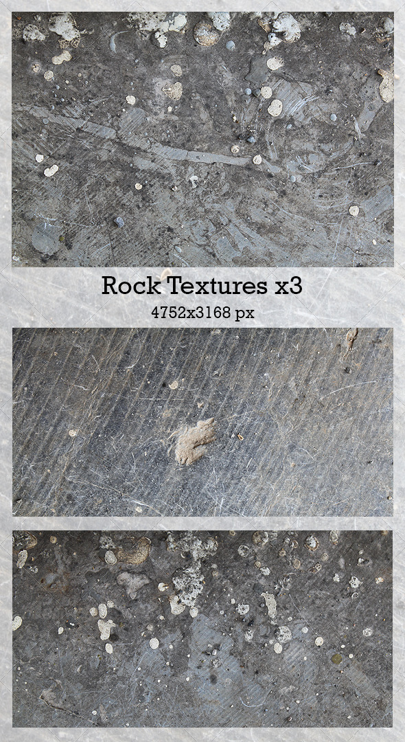 GraphicRiver Rock Textures x3 5548323
