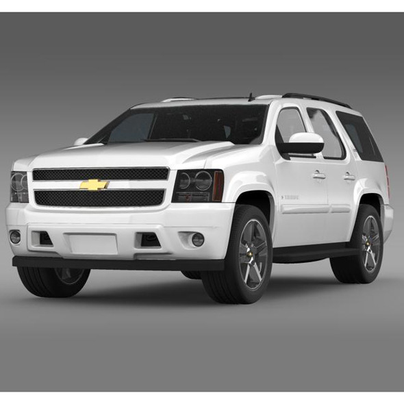 Chevrolet Tahoe LTZ 2007 - 3DOcean Item for Sale
