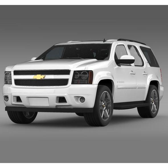 3DOcean Chevrolet Tahoe LTZ 2007 5548379