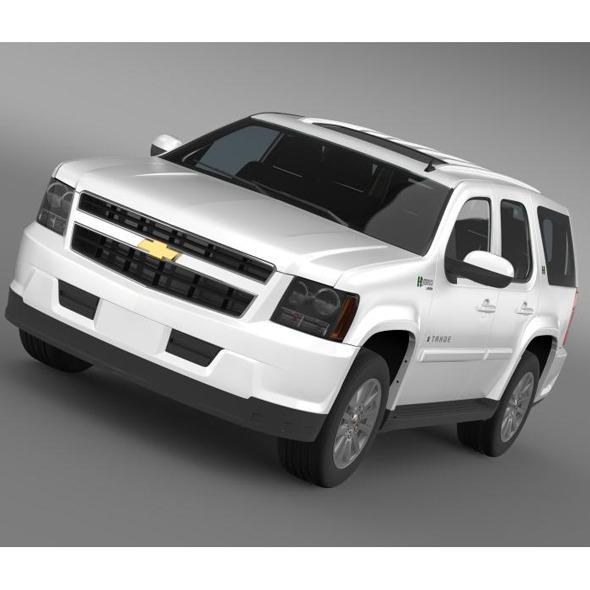 3DOcean Chevrolet Tahoe Hybrid 2012 5548442