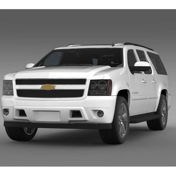 3DOcean Chevrolet Suburban LTZ 2011 5548589