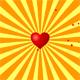 Randomly flying heart  - ActiveDen Item for Sale