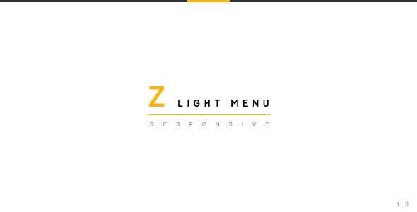 CodeCanyon Z Light Menu jQuery Plugin 5549449