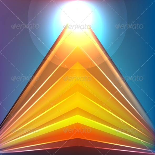 GraphicRiver Colorful Futuristic Background 5549472