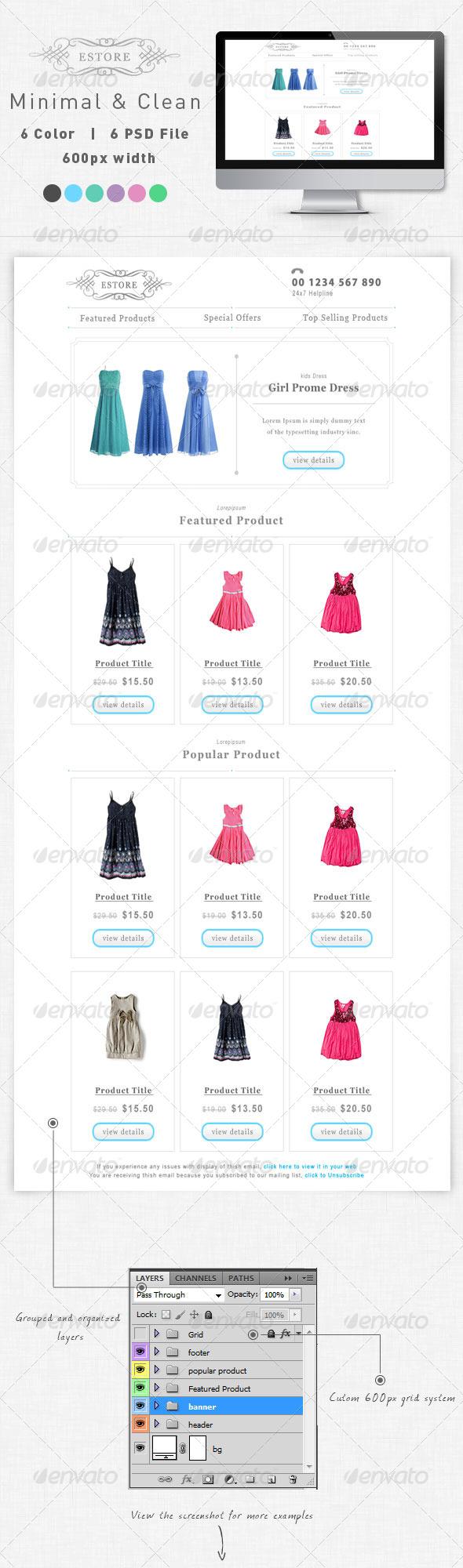 E-commerce Email Newsletter