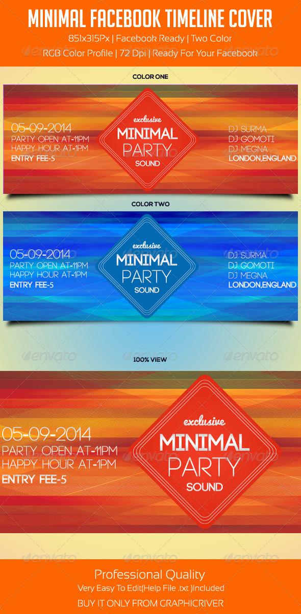 Minimal Facebook Timeline Cover 2 - Facebook Timeline Covers Social Media