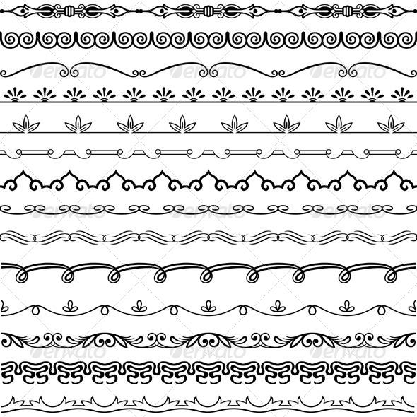 GraphicRiver Design Horizontal Elements 5550352