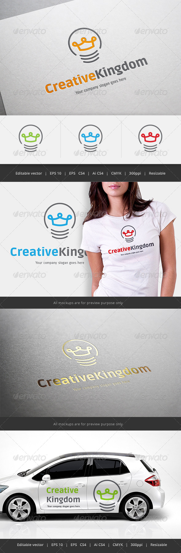 GraphicRiver Creative Kingdom Logo 5550453