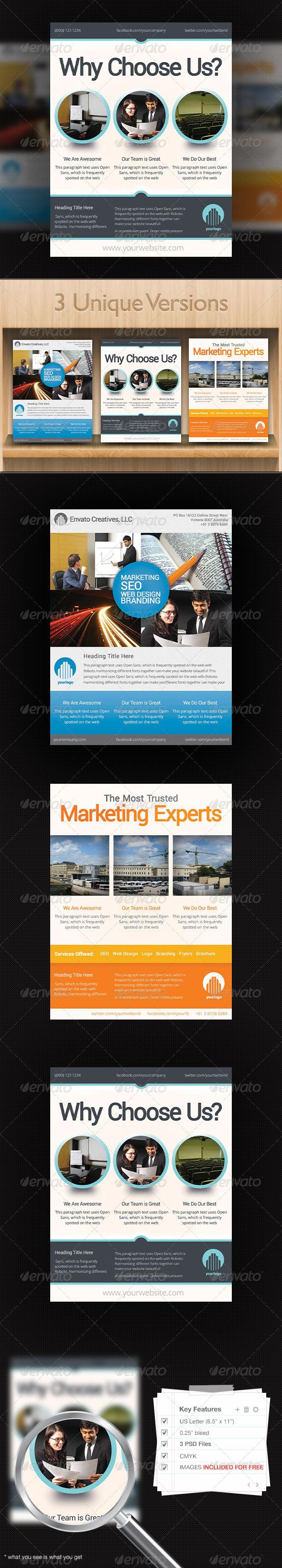 GraphicRiver Corporate Flyer Design Template 2 5550559