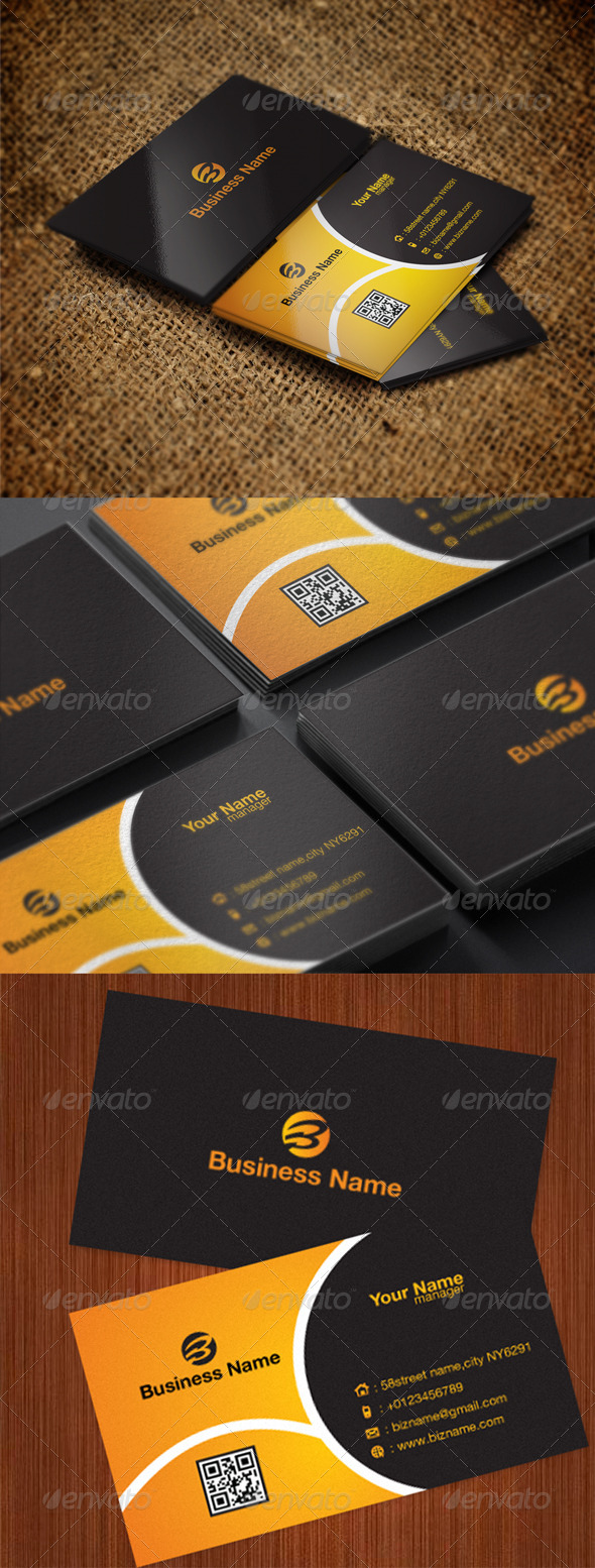 GraphicRiver Creative Business card 5509854