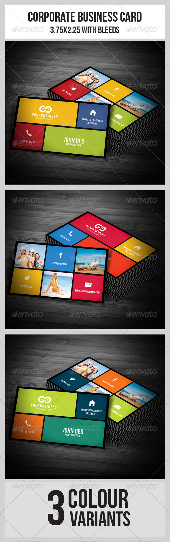 GraphicRiver Multipurpose Business Card 4983571