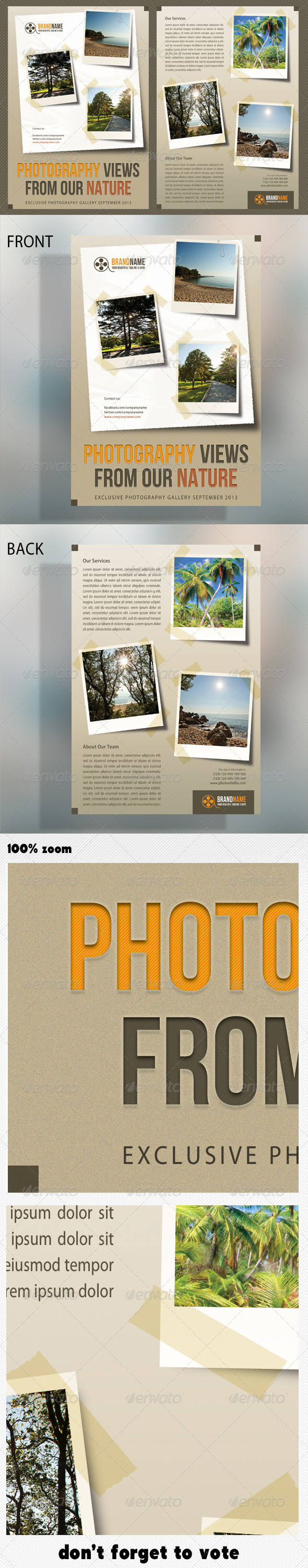 GraphicRiver Photograph Product Multipurpose Flyer 03 5529030