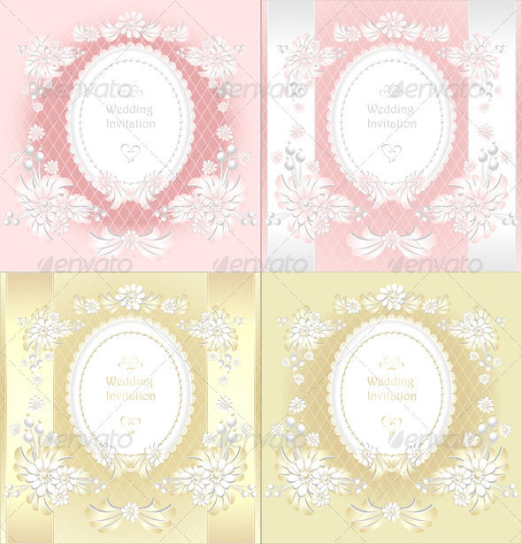 GraphicRiver Wedding Invitation or Congratulation in Pink Gold 5532658