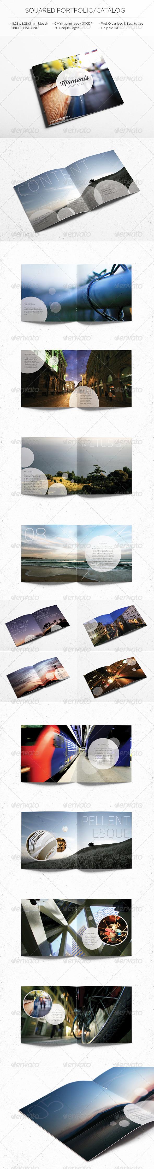 Square Catalog/Portfolio Template - Catalogs Brochures